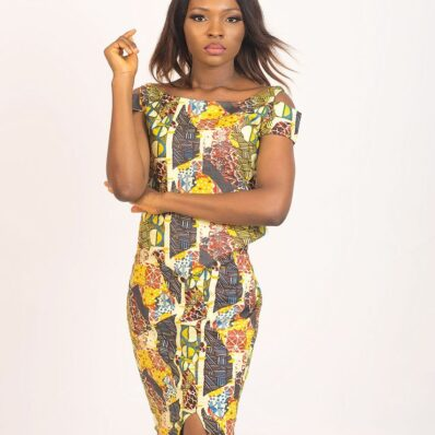KIDAN DESIGNED Mix Coloured Skirt
