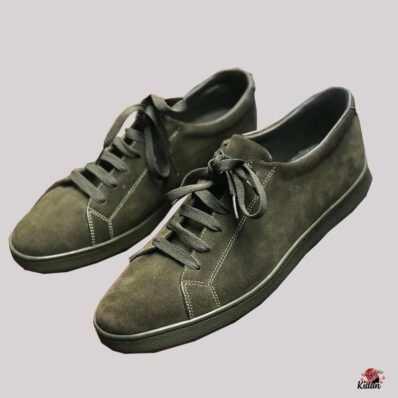 Derby Lace up Sneakers. (Suede)