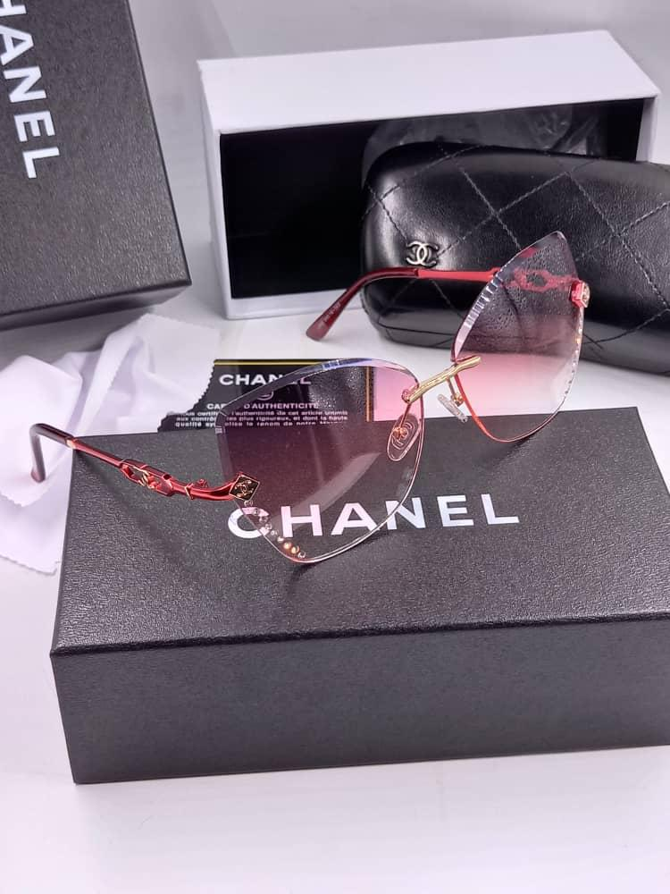 Luxe Style channel pink sunnies