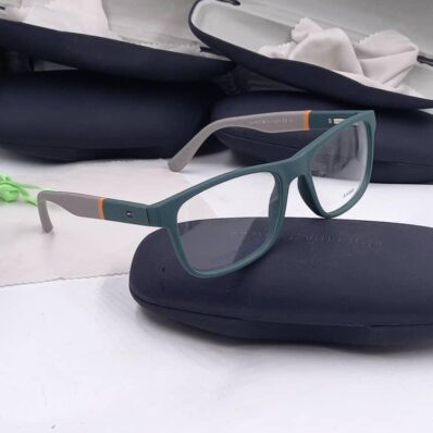 Luxe Style green frame Tommy Hilfiger glasses