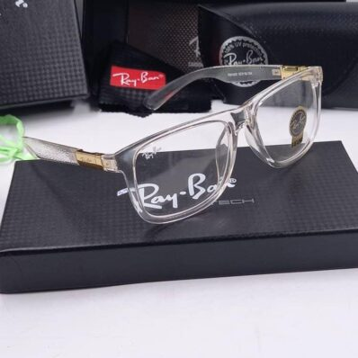Luxe style transparent ray ban glasses